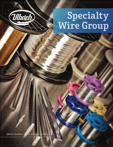 Specialty Wire Group Brochure