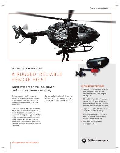 Rescue hoist model 44301