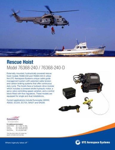 Rescue Hoist Model 76368-240 / 76368-240-D