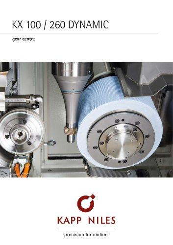KX 100/260 DYNAMIC gear center
