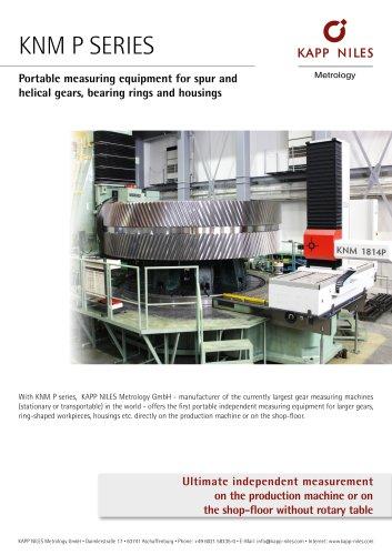 Portable measuring equipment | KNM P