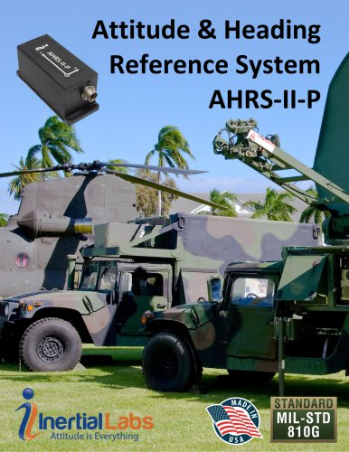 Attitude & Heading Reference System (AHRS-II-P)