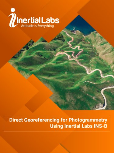 Direct Georeferencing for Photogrammetry Using Inertial Labs INS-B
