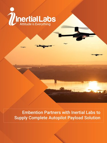 Embention Partners with Inertial Labs to Supply Complete Autopilot Payload Solution