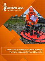 Inertial Labs Introduces the Complete Remote Sensing Payload Solution