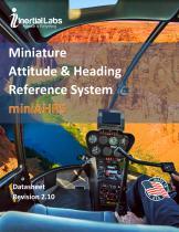 miniAHRS – Miniature Attitude & Heading Reference System - 1