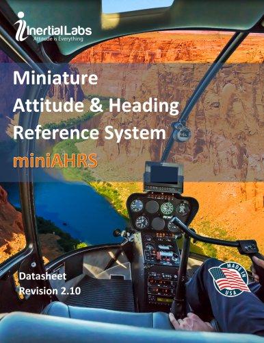miniAHRS – Miniature Attitude & Heading Reference System
