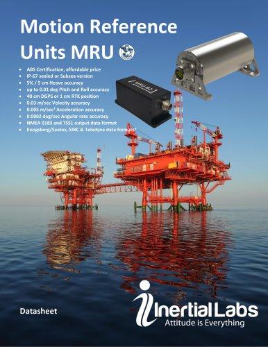 Motion Reference Units (MRU-B, MRU-E, MRU-P)