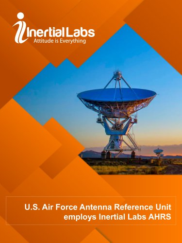U.S. Air Force Antenna Reference Unit employs Inertial Labs AHRS