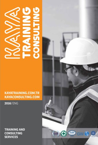 TRAINING AND CONSULTING SERVICES