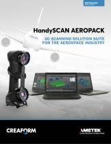HandySCAN AEROPACK 3D SCANNING SOLUTION SUITE  FOR THE AEROSPACE INDUSTRY