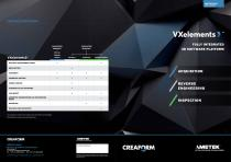 VXelements: Fully integrated 3D Software Plattform