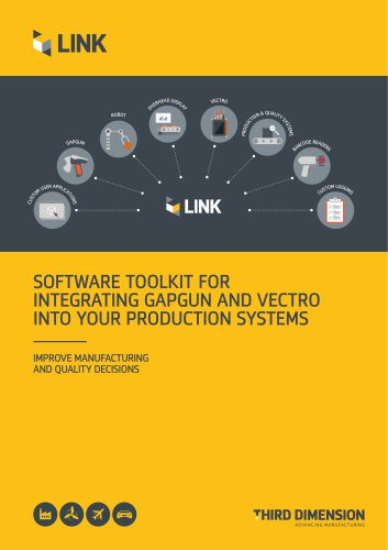 SOFTWARE TOOLKIT FOR INTEGRATING GAPGUN AND VECTRO INTO YOUR PRODUCTION SYSTEMS