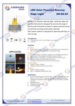 LED LED Solar Powered Runway Edge Light