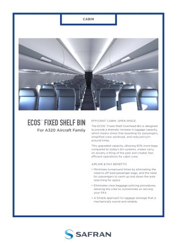 ECOS™  FIXED SHELF BIN
