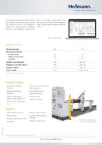 Portable Runout Testing System RO 7000 - 2