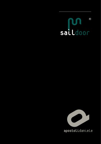 Apostoli Daniele - Saildoor® - English