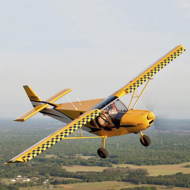 Avião esportivo de 2 lugares / com motor a 4 tempos / monomotor / em kit  CH750 Zenith Aircraft Company