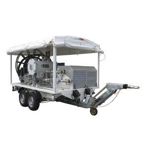 carro de abastecimento de combustível rebocável / para avião