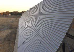 barreira defletora de empuxo em fibra de vidro / para aeroporto