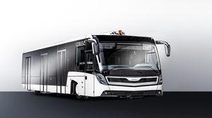 ônibus para aeroporto / 110 passageiros / climatizado / 14 lugares sentados