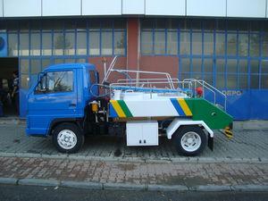 caminhão-pipa para água potável com plataforma elevatória / para aeroporto