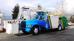 veículo de degelo para aeronave / para pista / pulverizador / autopropelido