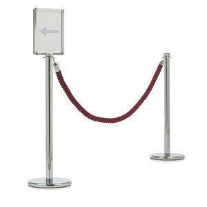 organizador de fila de corda / para aeroporto / de cabeça redonda