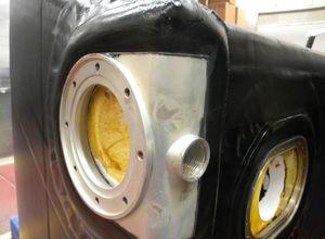 tanque de combustível / em elastômero / para helicóptero / resistente a impactos