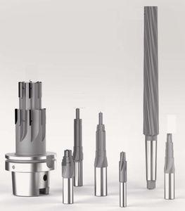 escareador monobloco / para metais / para aeronáutica