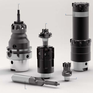 escareador com pastilhas de corte / monobloco / para metais / para aeronáutica