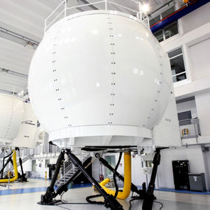simulador de helicóptero / de voo / para treinamento / em cabine de pilotagem