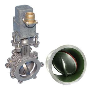 válvula borboleta / para combustível / de regulação de fluxo / para avião comercial