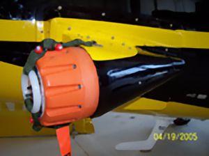 transmissor localizador de emergência para avião / para helicóptero / com GPS integrado
