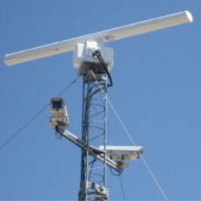 radar de vigilância / para aeroporto