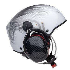 capacete para paramotor / para ultraleve trike / demi-jet