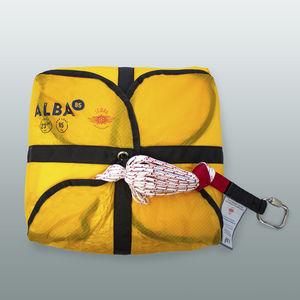 paraquedas de emergência / monolugar
