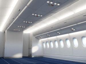 compartimento de bagagem para avião
