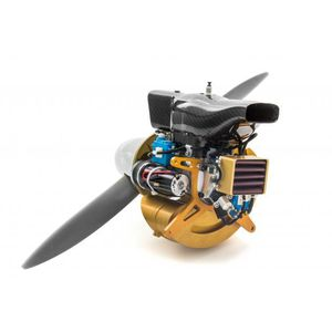 motor de pistões 0 – 10 cv / 0 – 10 kg / para ultraleve motorizado / para drone