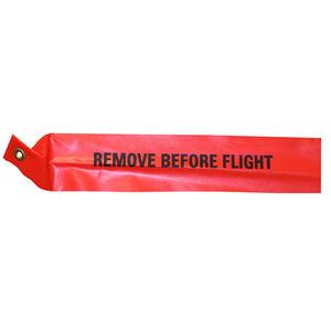 fita aeronáutica para avião / laranja / remove before flight