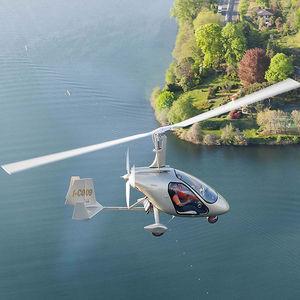 girocóptero de 2 lugares / com motor de 4 tempos / com cabine fechada