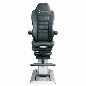 assento para simulador de voo / para tripulantes / em couro