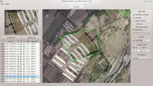 software de análise de imagens / para drone