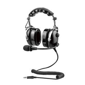 fone de ouvido com microfone para helicóptero / para piloto / antirruído