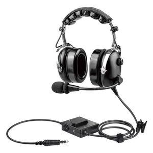 fone de ouvido com microfone para a aviação comercial / para helicóptero / para piloto / antirruído