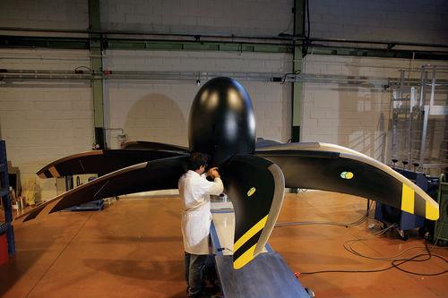 hélice para aeronave do tipo