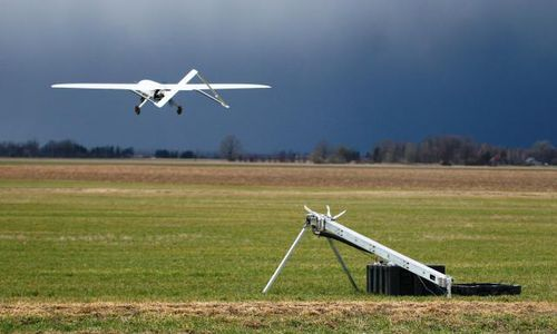 catapulta para lançamento de drones catapulta