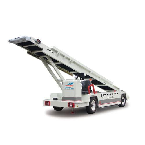 esteira de carga e descarga de bagagens rebocável
