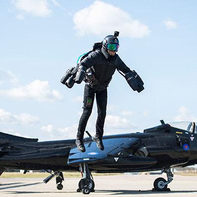 jetpack com propulsão a gás