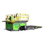 loader tipo tesoura / para mercadoria / hidráulico / elétrico